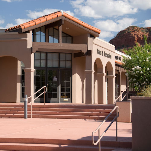 sedona city hall and parks and rec