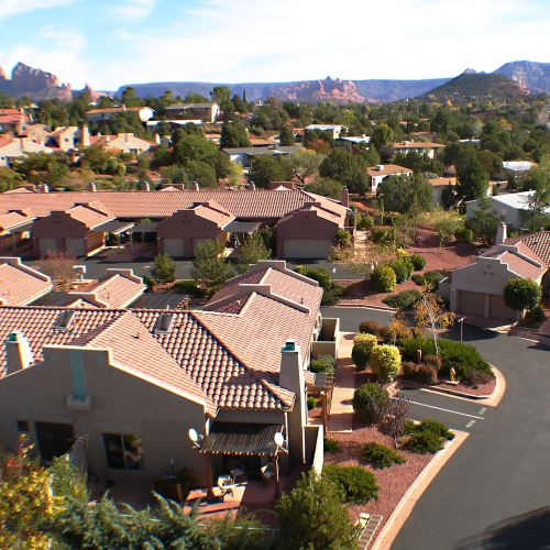 completed nepenthe subdivision in sedona